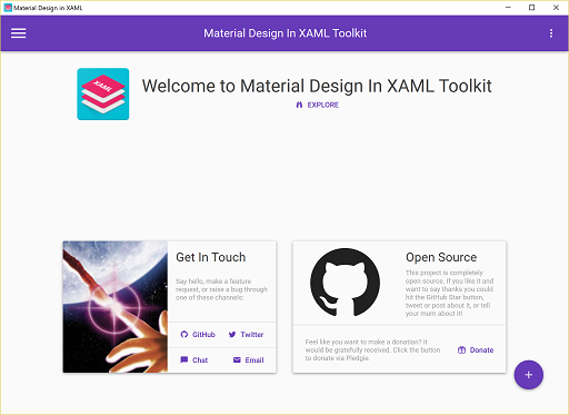 Material Design In XAML
